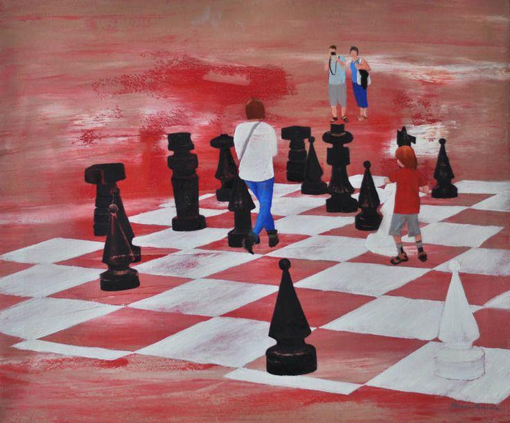 Chess by Joanna Burda