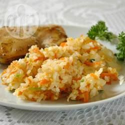 Ginger and Carrot Rice