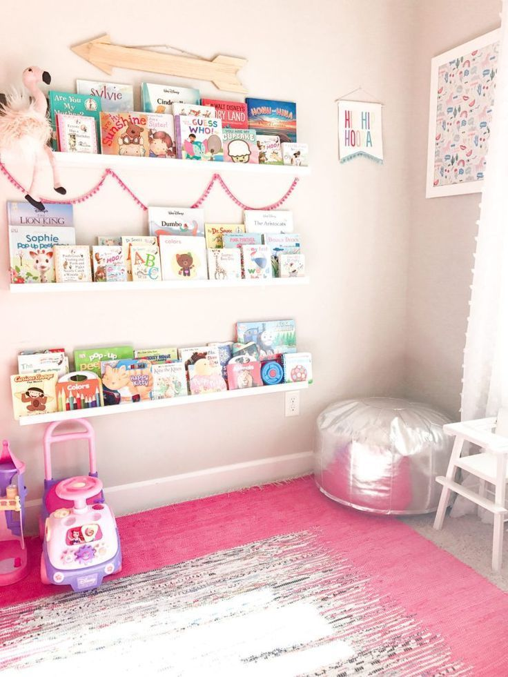 Pink And Mint Girls Playroom Tour &; The House Of Hood Blog Pink And Mint Girls Playroom Tour &; The House Of Hood B… In 2020 | Girls Playroom, Baby Playroom, Pink Playroom