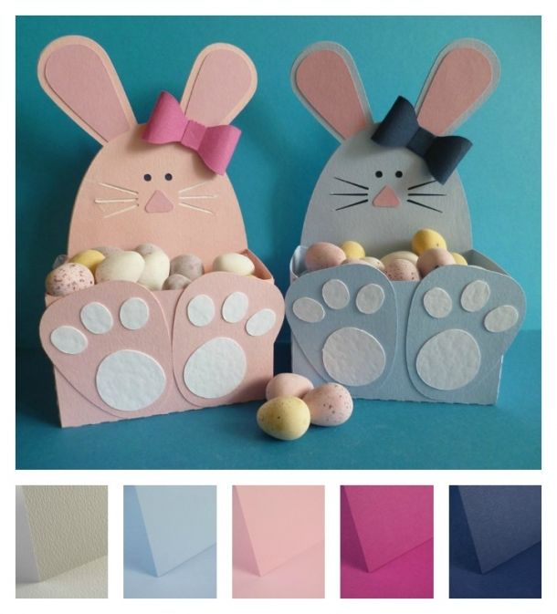 60 best kids easter crafts paper and card images on pinterest project easter bunny gift boxes papermilldirect easter craftseaster ideascute negle Gallery