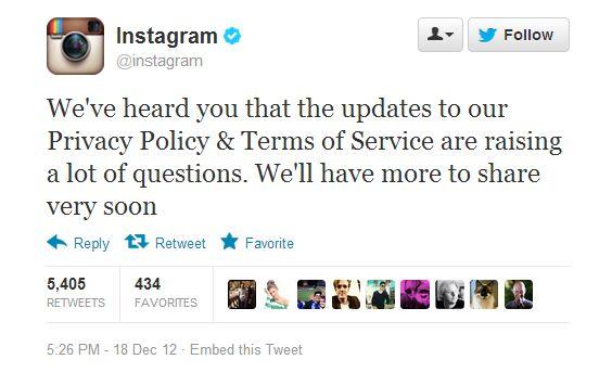 Instagram enfrenta reação após decidir usar comercialmente imagens dos usuários - Web Expo Forum 2013