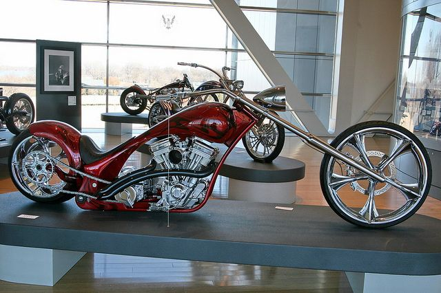 Outrageous Matt Hotch Custom Chopper