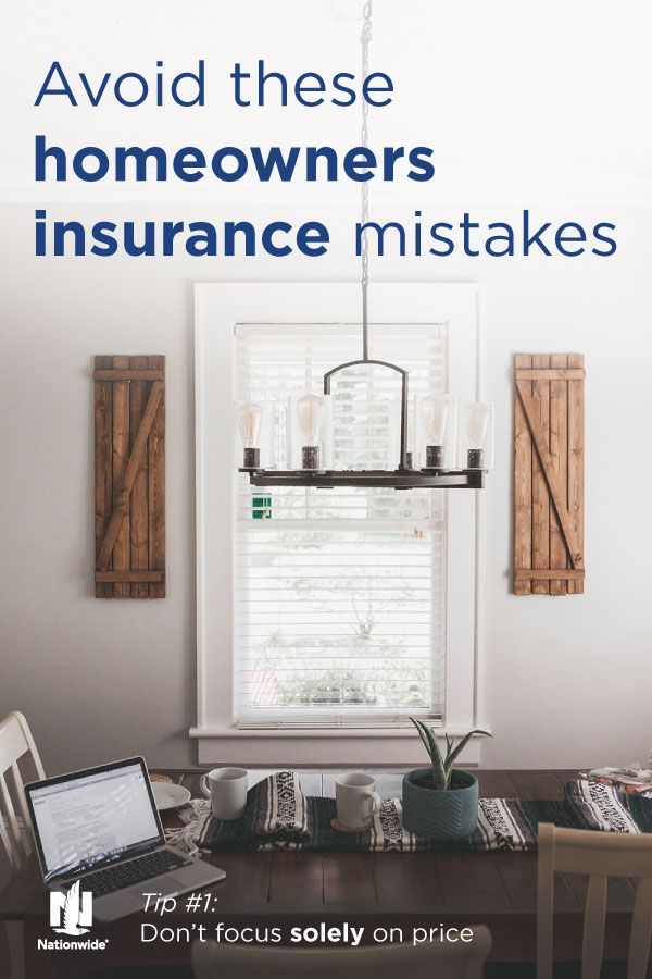 Avoid Common Homeowners Insurance Mistakes Homeowners Insurance