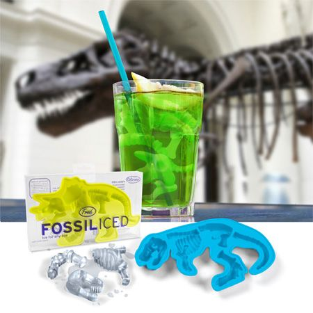 freeze dinosaurs in an ice cube then let the kids drop hot water on them to find them!