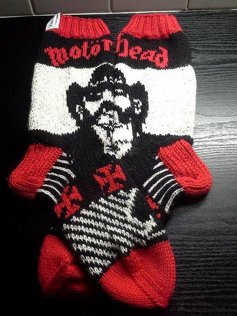 Ravelry: Motörhead-Lemmy sukat pattern by Katja Korhonen