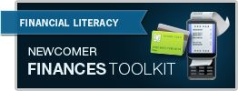 Newcomer Finances Toolkit from Ottawa Community Loan Fund aussi disponible en Français