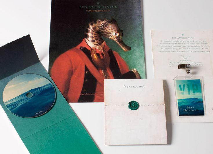 Graphic-ExchanGE - a selection of graphic projects: Les Américin, Branding Design, Robert Efurd, Music Packaging, Graphics Design, Graphics Projects, Design Packaging, Les Américain, Les Americain