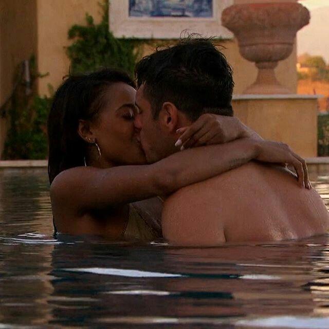 Erotic interracial love making