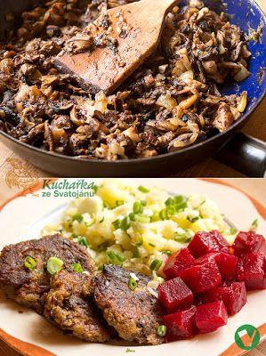Kuchařka ze Svatojánu: HOUBOVÉ KARBANÁTKY