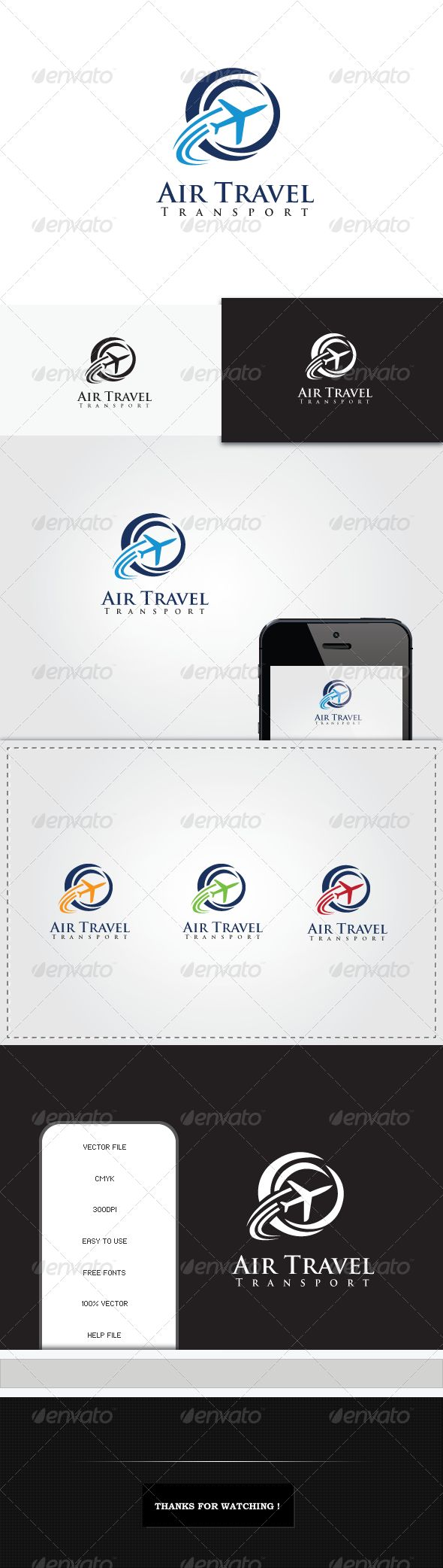 Air Travel Transport — Vector EPS #flight #trip • Available here → https://graphicriver.net/item/air-travel-transport/5333980?ref=pxcr