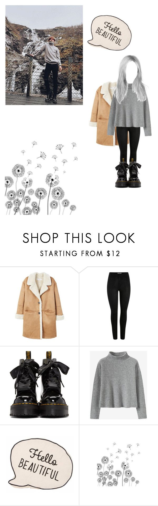 """""""Hello beautiful your so pretty❤️"""" by xxkatelynn-lacolexx ❤ liked on Polyvore featuring MANGO and Dr. Martens"""