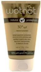 100% natural and organic sunscreen