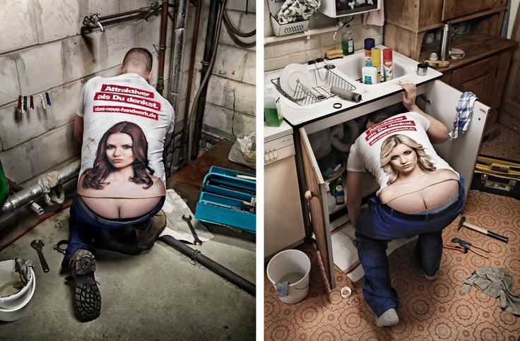 MARKUS MUELLER PHOTOGRAPHER is responsible for this rebranding of the plumber's crack.