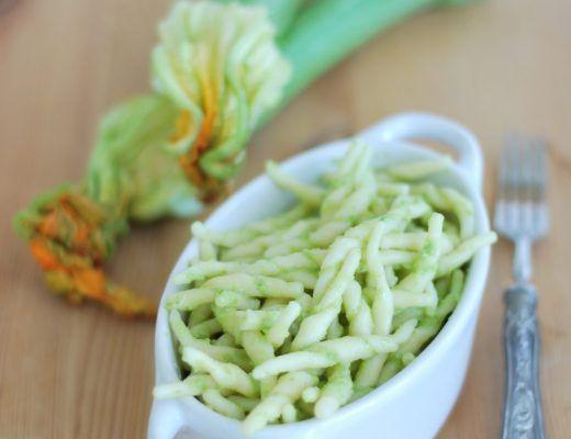 trofie al pesto di zucchine