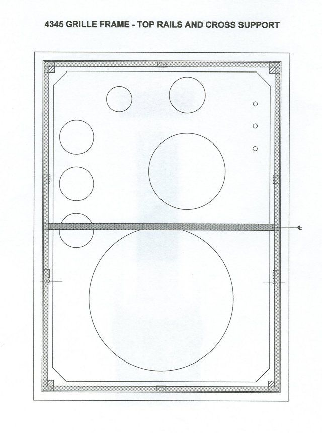 4345 Enclosure Plans Jbl Technical Help How To Plan