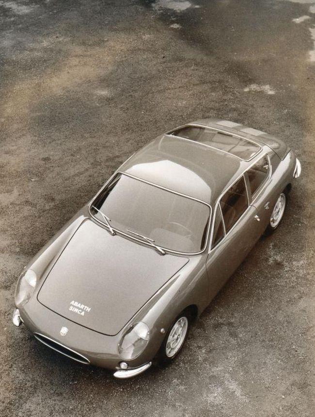Fiat Abarth 850 Coupe Scorpione Allemano                                                                                                                                                                                 Plus