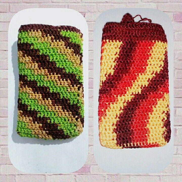 Crochet make up pouch  Follow Instagram @soedjarajut
