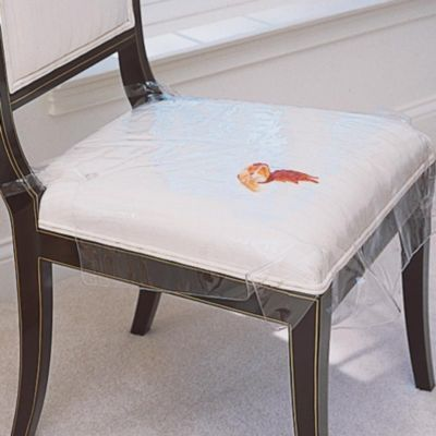 Buying these for my mom - she needs them!Plastic Seat Covers-Seat Protectors