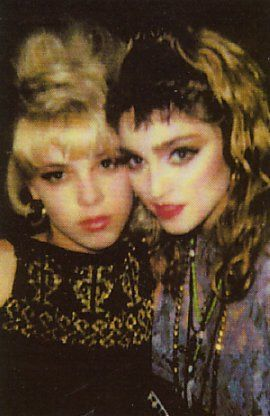 Debi Mazar  amp  MadonnaDebi Mazar Young