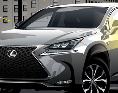 "Check out new work on my @Behance portfolio: ""Lexus illustration"" http://on.be.net/1ON2cVj"