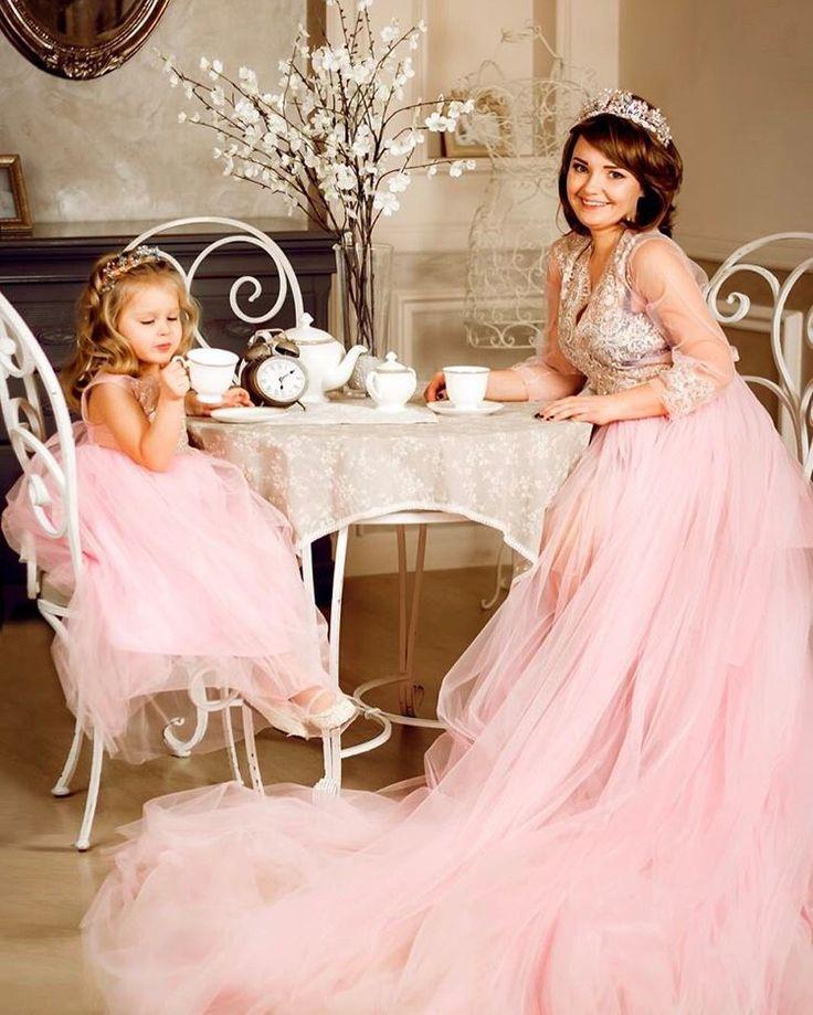 Платья напрокат для фотосессий мама+дочь (400 грн+250 грн) Viber 063-430-08-82! #19_iris_dress !!  #платья #мамадочь #красивоеплатье #пышноеплатье