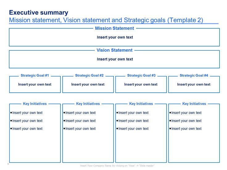 15 best Simple Strategic Plan Template By ex-McKinsey - witness statement template