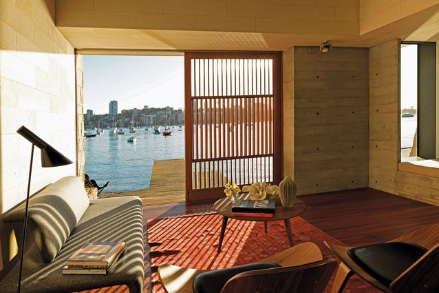 Point Piper Boathouse by Andrew Burges Architects
