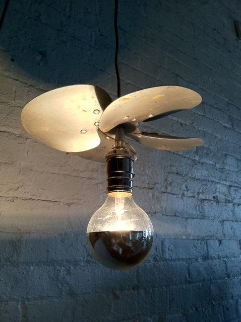 fan light by NEMhandmade on Etsy, $135.00: Fans Lights, 135 00 Nemhandmade, Creative Lights, Nemhandmade Etsy