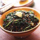 Linzen met spinazie - recept - okoko recepten