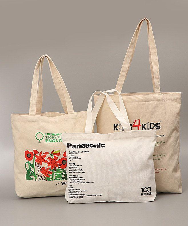Hamilton organic cotton canvas tote bag
