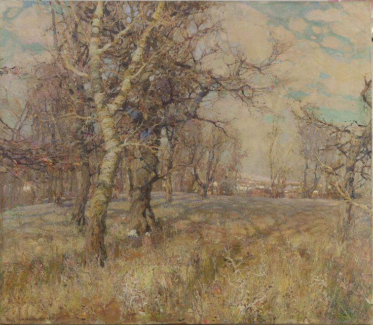 """Осенний пейзаж"""", И.Ф. Колесников."""