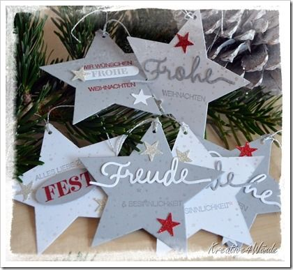 Sternenanhänger in Geschenkbox Stampin`Up!