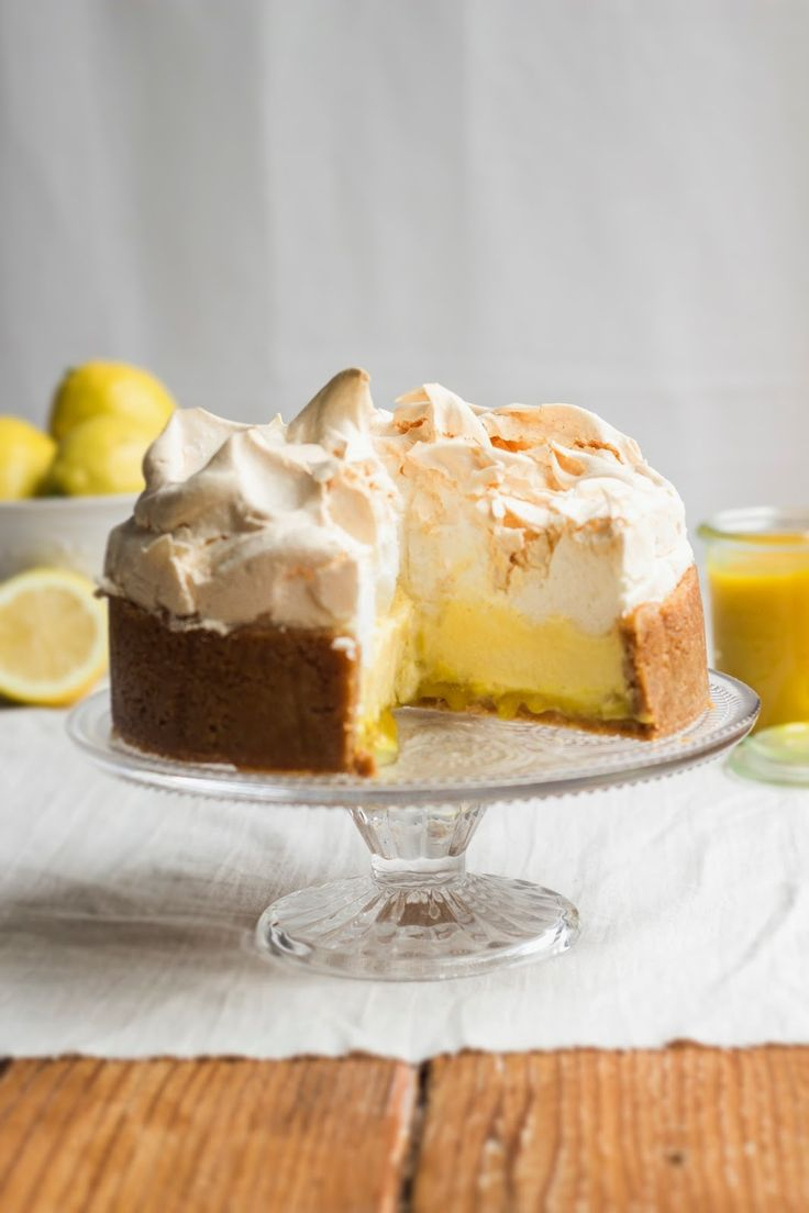 Mmmm: Lemon meringue cheesecake
