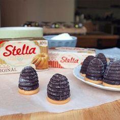 Jednoduchá vosí hnízda recept   Stella pečení
