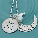 I love you to the moon and back-For Taryn!