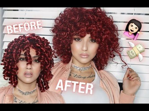 How To SLAY A Cheap Wig - YouTube