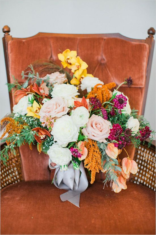 #fallbouquet @weddingchicks
