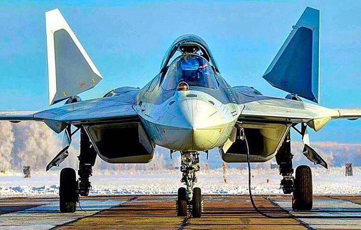 Russian Air Force Sukhoi T-50 PAK-FA.