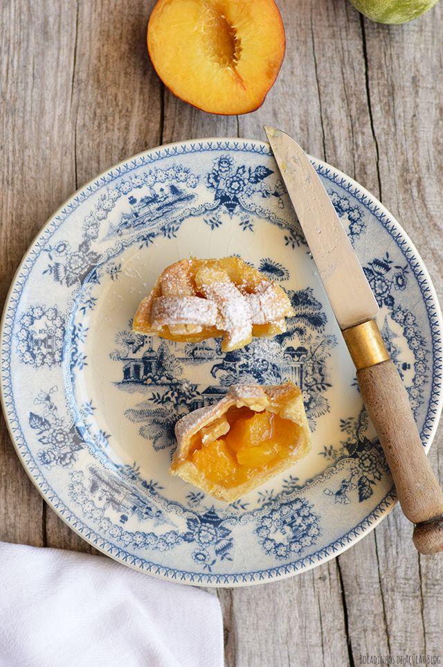 Bocadinhos de Açúcar: Tarteletes de Pêssego & Lima ❤️vanuska❤️