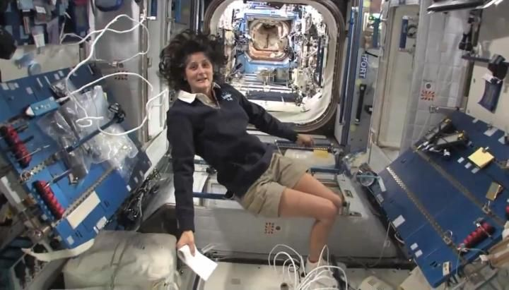 NASA astronaut Sunita Williams takes viewers on an extensive tour of the International Space Station.