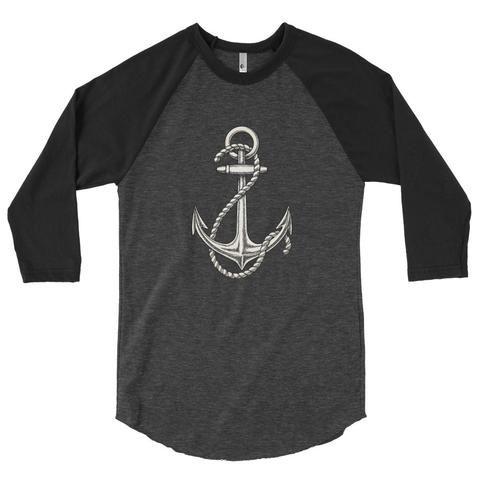 3/4 Anchor Raglan Shirt