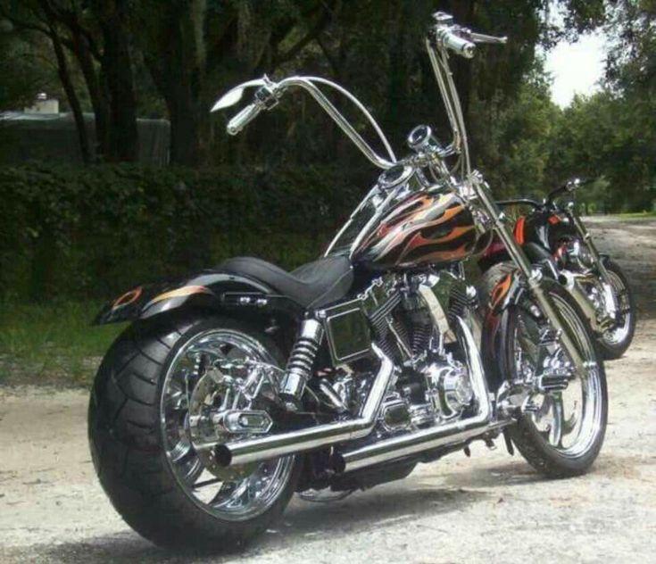 Harley Davidson Dyna Wide Glide #harleydavidsonbobbersdyna