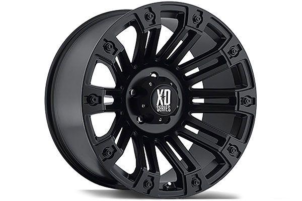 XD-810 Satin Black Rims for Trucks - Best Price on 810 XD Wheels by KMC - XD Series 810, 20 & 22 Inch Rims