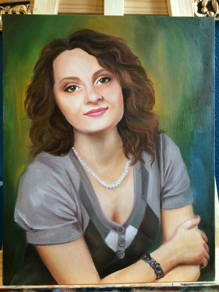 #portrait #oil #painting