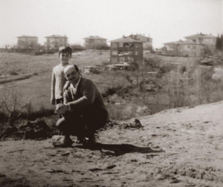 Boğaziçi Köprüsü bağlantı yolu harfiyatından Acıbadem Eczacı Necip Akar sokak.1970