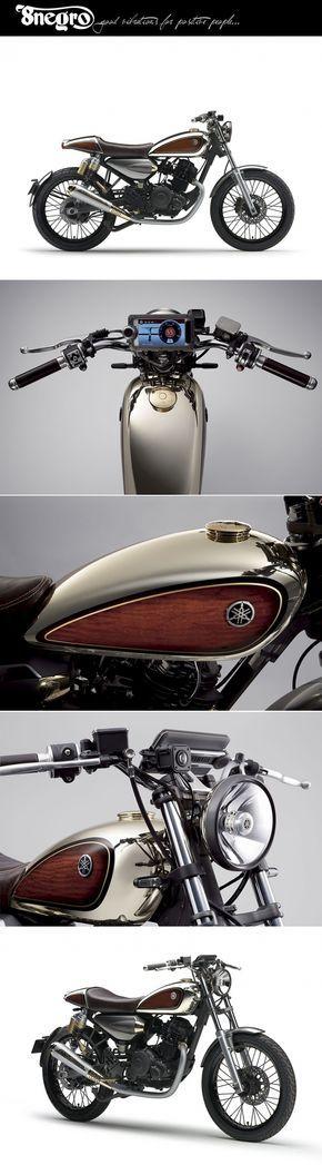 Yamaha Resonator 125.                    8negro - created via http://pinthemall.net