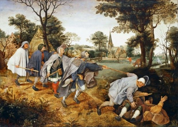Pieter Bruegel the Elder. The Parable of the Blind, 1568, Museo di Capodimonte, Naples, Italy