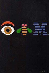 """1981 Paul Rand """"IBM"""""""