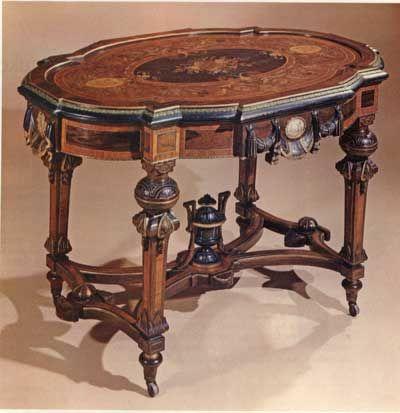 amazing Victorian table