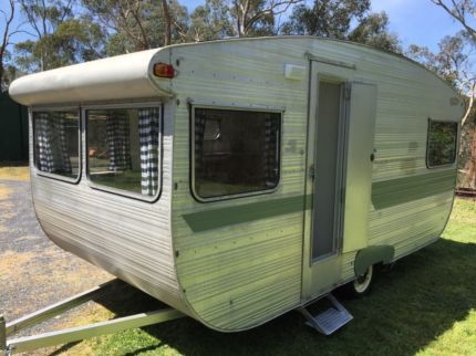 Caravan vintage retro Blue Horizon, 4 berth 15 foot. | Caravans | Gumtree Australia Nillumbik Area - North Warrandyte | 1128665729